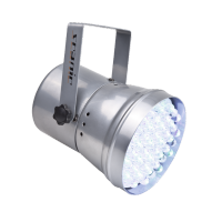 Scanic LED PAR 36 RGB silver