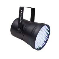 Scanic LED PAR 36 RGB black